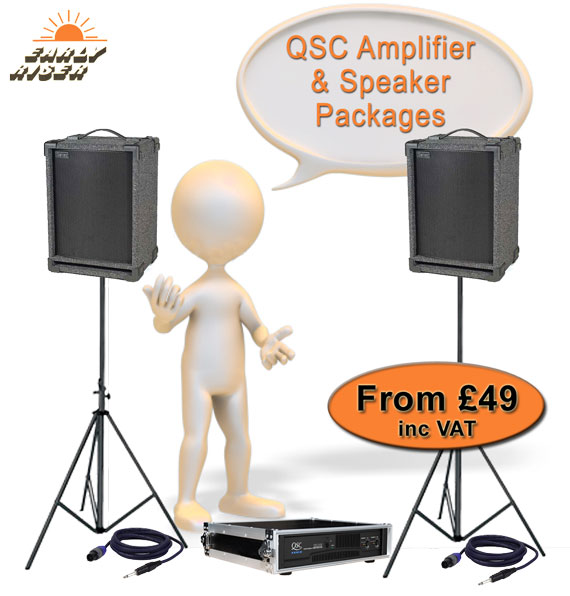 Amplifier and Speaker Systems For Hire