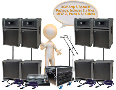 dj and disco equipment hire sound equipment for bands conferences and vocal pa. Black Bedroom Furniture Sets. Home Design Ideas